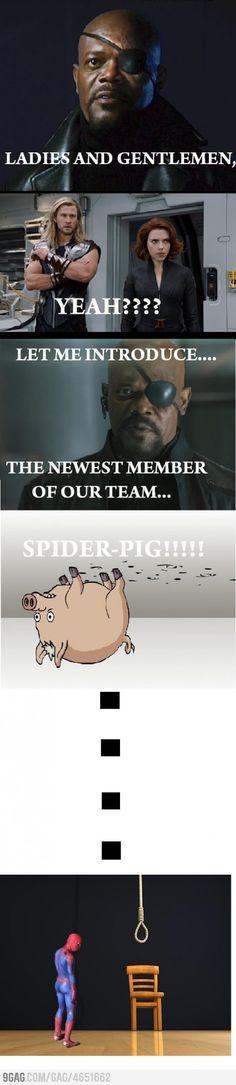The new avenger...