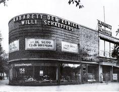 Es war eines der wichtigsten und erfolgreichsten Kabaretts seit Mitte der 1920er-Jahre: das Kabarett der Komiker am Kurfürstendamm im Gebäudekomplex, wo sich heute die Schaubühne am Lehniner Platz befindet, 1935.© bpk