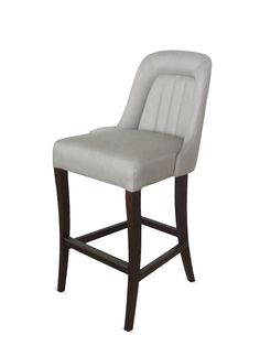nuLOOM Hand-upholstered Linen Bar Stool for sale online Bar Stools For Sale, Wood Bar Stools, Upholstered Bar Stools, Rugs Usa, Discount Rugs, Indoor Outdoor Rugs, Floor Rugs, Just In Case, Home Furniture
