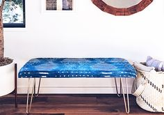 Make an Easy Upholstered Bench on Etsy