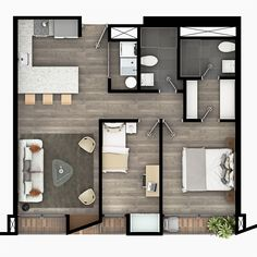 Plans of the apartments of the Equilibrium project in the city of Bogotá – Pr … – House Design House Layout Plans, Small House Plans, House Layouts, House Floor Plans, Small Apartment Plans, Apartment Floor Plans, Apartment Layout, House Floor Design, Sims House Design