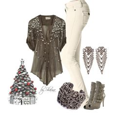 """""""white elephant gift party"""" by shauna-rogers on Polyvore"""