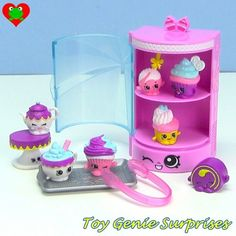 Shopkins food fair cupcake edition