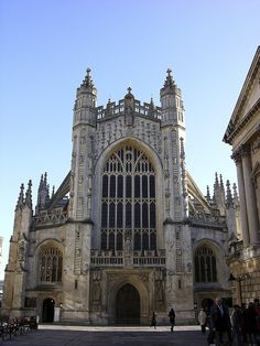 Bath Cathedral - this is a stunning cathedral.. actually ALL of Bath is stunning!
