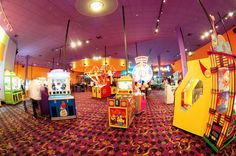 John's Incredible Pizza - Over 100 of the latest Video and Ticket-Dispensing Games! http://visitnationalcity.com/