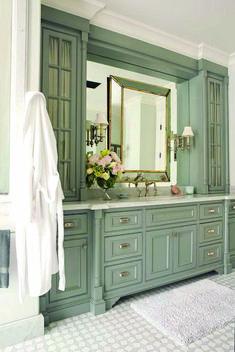 Home Interior Salas .Home Interior Salas Bathroom Vanity Cabinets, Mirror Cabinets, Kitchen Cabinet Colors, Painting Kitchen Cabinets, Kitchen Layout, Cheap Office Decor, Cheap Home Decor, Cheap Bathroom Remodel, Bathroom Ideas