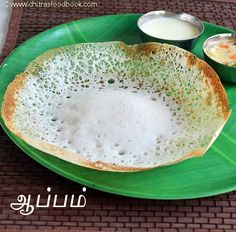 Soft n spongy appam recipe without yeast,coconut milk and cooking soda - yummy southindian breakfast recipe