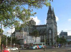 Vista da Catedral da Sé em Fortaleza.