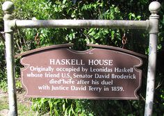 Haskell House duel