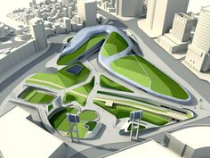 dongdaemun design park & plaza (DDP) by zaha hadid opens in seoul, south korea