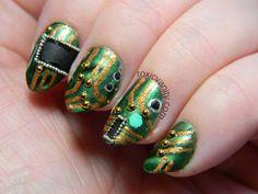 Toxic Vanity: circuit board nails