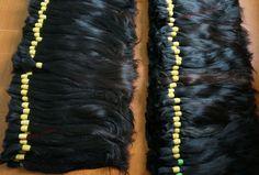 straight bulk hair 35cm