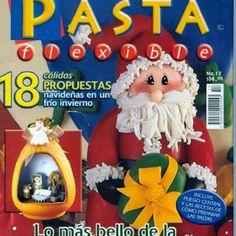 Molde Santa claus en la chimenea - Blog de Santa clauss Christmas Holidays, Merry Christmas, Christmas Ornaments, Magazine Crafts, Pasta Flexible, Cold Porcelain, Sculpting, Biscuit, Dolls