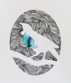 Art We offer an ever changing range of prints from many new Bird Design, Design Art, Native Drawings, Art Psychology, Maori Patterns, Maori Designs, New Zealand Art, Nz Art, Maori Art