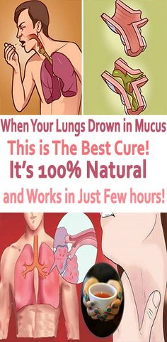 Natural remedy for mucus built up in lungs