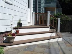stairs leading out of sliding doors - Google Search