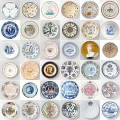 @Britums Plates Rijksmuseum Large- to make a wall like at Park