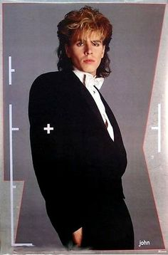 Tuxedo poster 1984 yes I did have this poster as a matter of fact! Dutch Store, Nigel John Taylor, Kat Williams, The Hollywood Bowl, The New Wave, Good Looking Men, Gorgeous Men, Cool Bands, Mtv