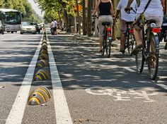 These Recycled Plastic Dividers Can Create A Bike Lane In A Second   Co.Exist   ideas + impact
