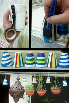 Kullad cups garden idea acrylic