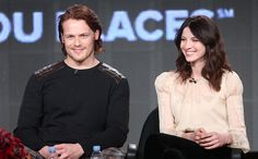 """Another critic asked if a pivotal scene from the book where — spoiler alert – Claire is harshly physically punished by her lover Jamie (Sam Heughan).  """"It's in the book and it's in the show,"""" said Moore, who wore a kilt to the panel. """"It's certainly an explosive scene. It hasn't been shot yet, it's down the road a bit. It's a shocking moment, but its an important part of the development of the characters and we're going to go for it."""""""