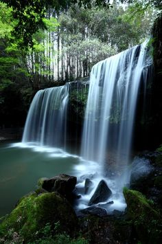 Photo du jour #121 : Soothing Waterfalls