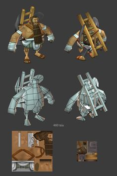 For the last 2 years ive been at Gas Powered Games working on Age of Empires Online. Character Modeling, Game Character, Character Design, 3d Modeling, Casual Art, Low Poly Games, 3d Mesh, Hand Painted Textures, Age Of Empires