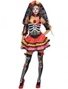 Adulte me porter Squelette Déguisement Halloween Effrayant Effrayant femme homme Skull