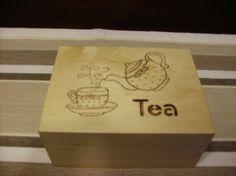 woodburn tea box
