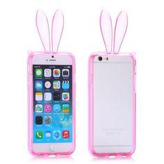 iPhone 6 (4.7 inch) Rabbit TPU Bumper case,Cover, hoesje