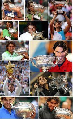 Rafael Nadal colecciona Grand Slams. ¿Qué tal se le daría #Bquet? http://bquet.com/