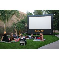 Open Air Cinema 12' Pro Cinebox Outdoor Movie Theater System CBP-12