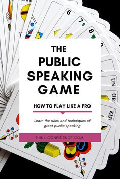 Essential Public Speaking Tips | Think Confidence. Want to look and feel confident when speaking in public. These public speaking tips will make you look and sound like a pro