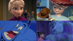 If you have heard the Disney theory than you have to see it😜 Pixar Theory, Disney Theory, Disney Pins, Walt Disney, Top Disney Movies, Cartoon Movies, Disney Animation, Disney Cartoons, Superwholock