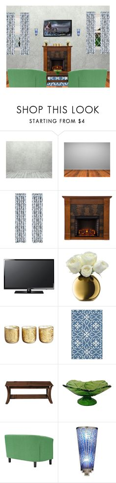 """Tv Room"" by selene-cinzia ❤ liked on Polyvore featuring interior, interiors, interior design, home, home decor, interior decorating, J. Queen New York, Southern Enterprises, Samsung and LSA International"