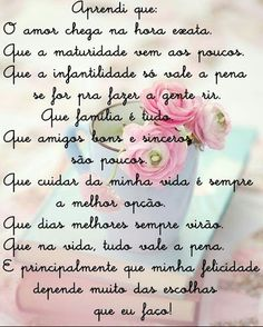 Escolhas... Portuguese Quotes, Family Love, Carpe Diem, Holidays And Events, Wallpaper Quotes, Life Is Beautiful, Life Lessons, Wisdom, Lettering