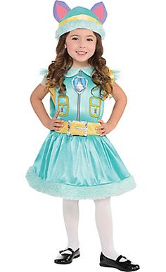 Toddler Girls Everest Costume - PAW Patrol
