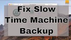 Fix Slow Macbook Pro TimeMachine Backup on External Drive by Erasing to Journeled Encrypted https://youtu.be/zmpm9d2J03A