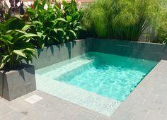 Amazing Swimming Pools, Small Swimming Pools, Small Backyard Pools, Small Pools, Swimming Pool Designs, Cool Pools, Indoor Swimming, Small Backyards, Lap Pools