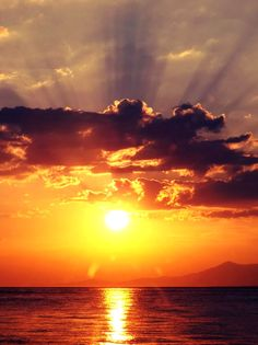 A Beautiful Sunset In Greece , from Iryna