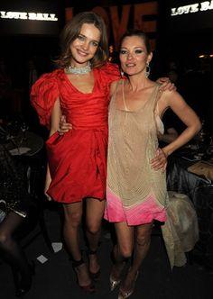 Kate Moss & Natalia Vodianova.