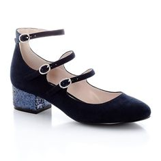 Ballet Pumps with Narrow Straps