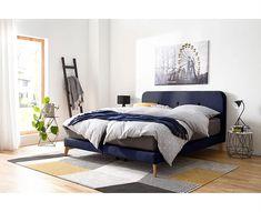 Κρεβάτι διπλό Φοίβη 1.60 x2.00 | Hugmaison Cozy Bedroom, Master Bedroom, Bedroom Decor, Minimalist Bedroom, Modern Bedroom, Dark Bedrooms, Bedroom Colors, Bedroom Furniture, Textiles