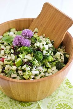 Crunchy and Refreshing Kohlrabi Salad   by Sonia! The Healthy Foodie
