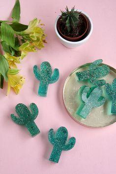 DIY Kaktus Seife selbermachen