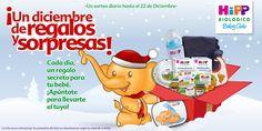 Sorteo diario en Diciembre de regalos para tu bebe en Facebook HiPP España