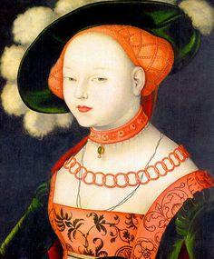 Hans Baldung Grien [1485-1545], Portret van een dame, 1530, Museo Thyssen-Bornemisza, Madrid
