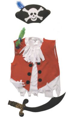Pirate Costume - should I run out of time - some good shortcuts.