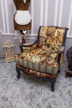 Wingback Chair, Armchair, Shabby Chic Colors, Type 3, Accent Chairs, Facebook, Photos, Furniture, Home Decor