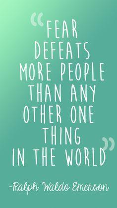Ralph Waldo Emerson definitely has a point.